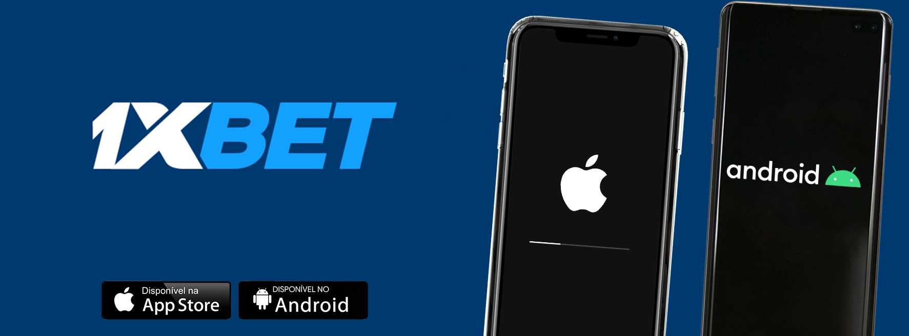 1xBet India: mobile app for Android and iOS.